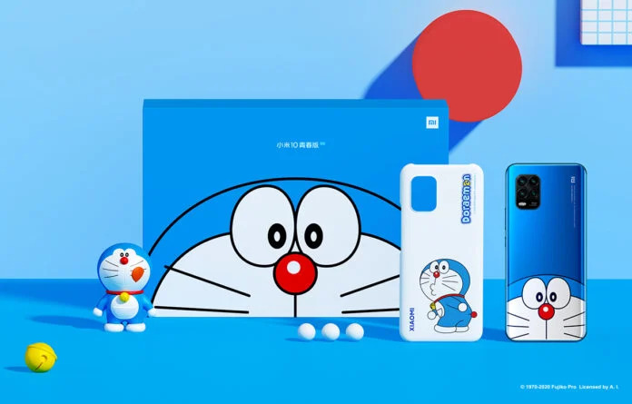 Xiaomi Mi 10 Youth Doraemon Limited Edition