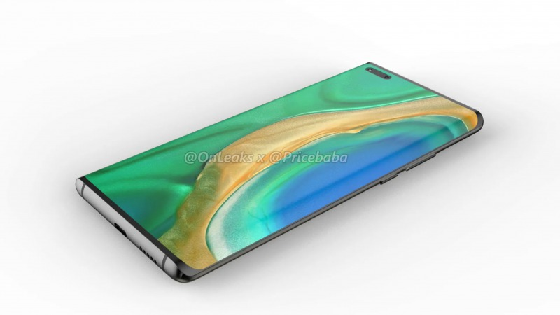 Mate 40 Pro rendered image 1