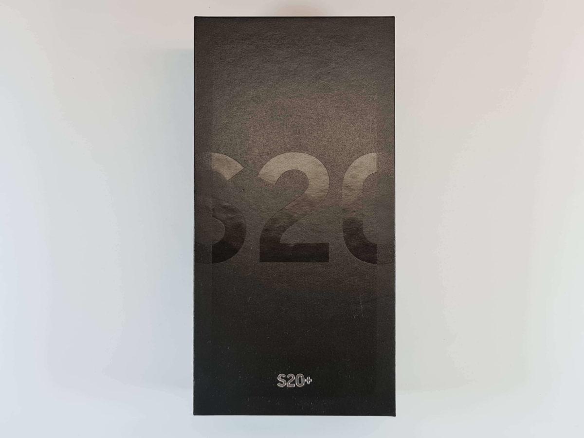 Galaxy S20+のパッケージ