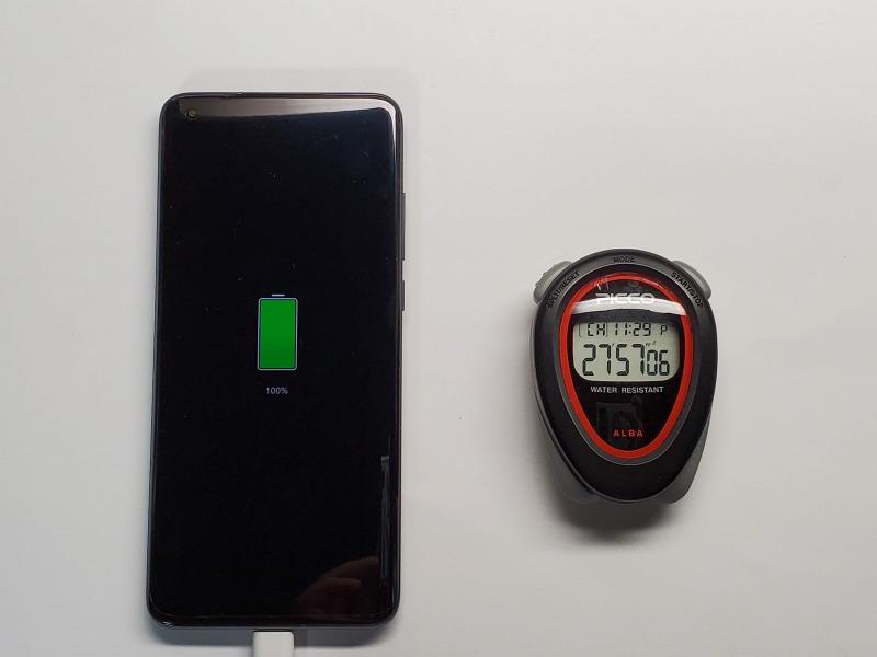Xiaomi Mi 10 Ultra  充電速度