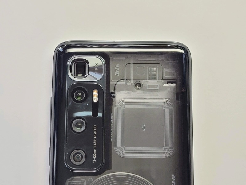 Xiaomi Mi 10 Ultra カメラ