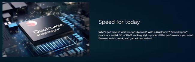 最新のSnapdragon678チップセットを採用