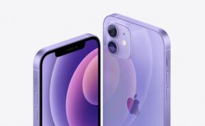 iPhone 12 パープル