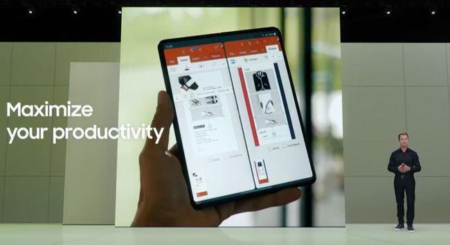 生産性を最大化できるフォルダブルスマートフォン