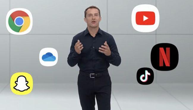 多くのアプリサービスでフォルダブルスマートフォンに最適化