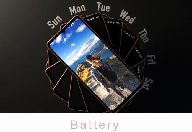 1週間持つバッテリー性能
